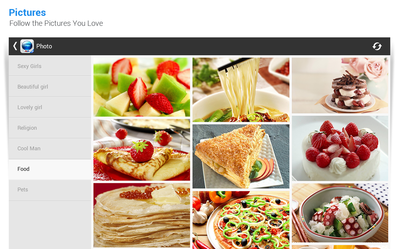 Baidu Browser for Tablet - screenshot