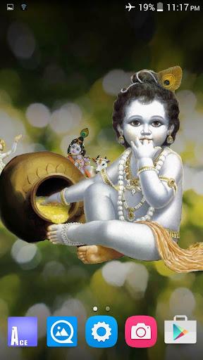 4D Krishna Live Wallpaper