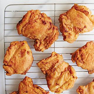 Georgia Peanut-Fried Chicken