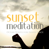 Sunset Meditation Ocean Waves