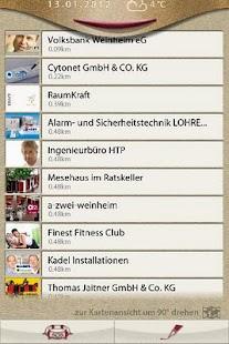 Weinheim- screenshot thumbnail