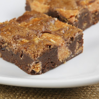 Butterfinger Brownies.