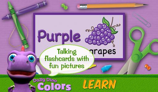 玩免費教育APP|下載Colors with Dally Dino HD app不用錢|硬是要APP