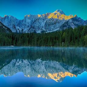 Mangartsko jezero..... by Jani Matko - Landscapes Mountains & Hills