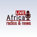 Africa radio & news logo