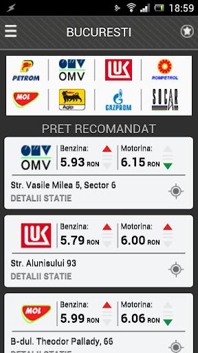 Peco - Preturile carburantilor