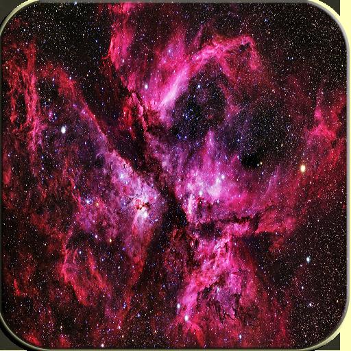 Pink Galaxy Keyboard 個人化 App LOGO-硬是要APP