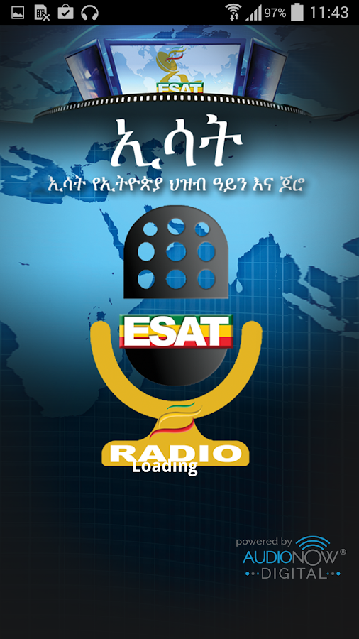 Radio ESAT- screenshot