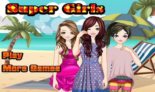 Super Girls – Dress up Games