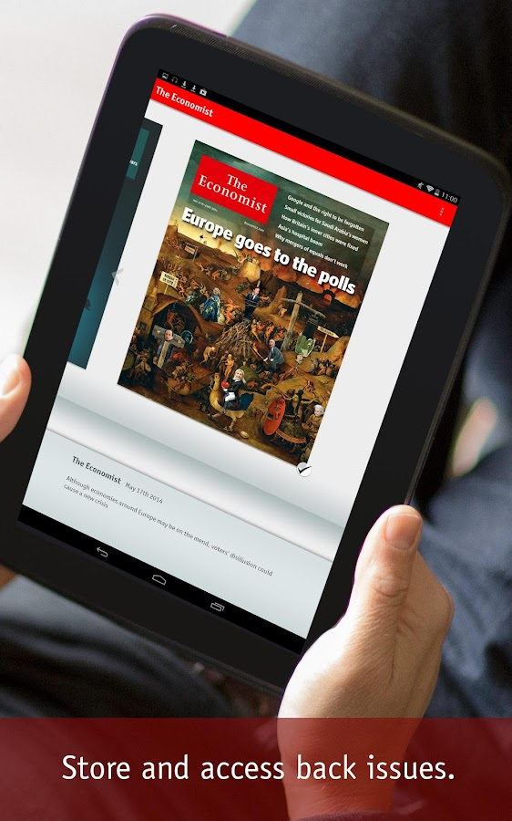 The Economist - screenshot