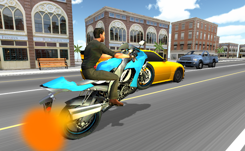Moto Racer 3D Android apk