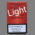 Smoke Less Save More (Light) logo