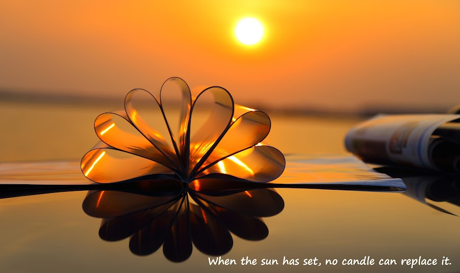 When the sun has set by 3rd eye Monster - Typography Captioned Photos