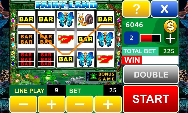 Fairy Land Slot Machine - screenshot