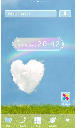 HAPPY RAINBOW Wallpaper Theme 1.6 Windows u7528 1