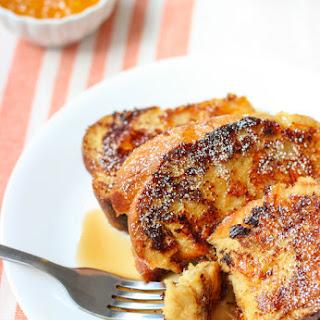 Honey Orange Whole Wheat French Toast.