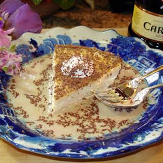 Irish Cream Cheesecake.