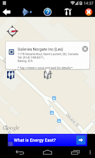 Nearest Toilet/ Nearby Alert- screenshot thumbnail