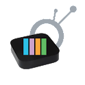 AppleTV AirPlay Media Player logo