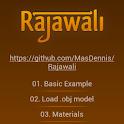 Rajawali 3D Engine Examples logo