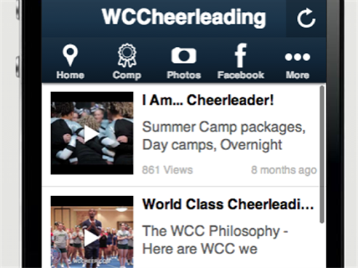 【免費運動App】World Class Cheerleading-APP點子