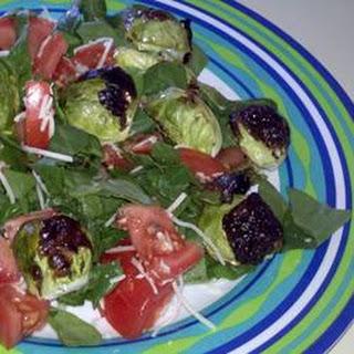 Aunt Karen's Brussels Sprouts Salad.
