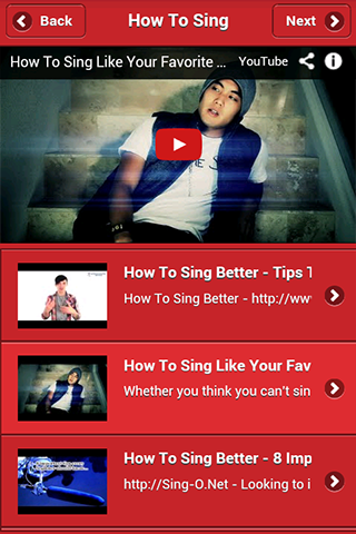 How to Sing - screenshot