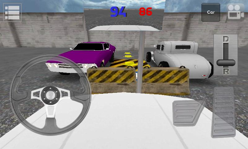 Classic Car Parking 3D Light- screenshot