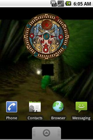 Majora's Mask Clock Widget - screenshot