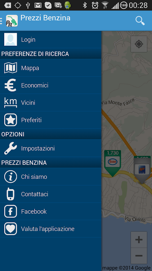 Prezzi Benzina - GPL e Metano- screenshot