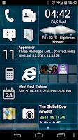 Screenshot of Home 8+ like Windows8 Launcher