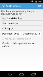 Resume Builder Pro- screenshot thumbnail