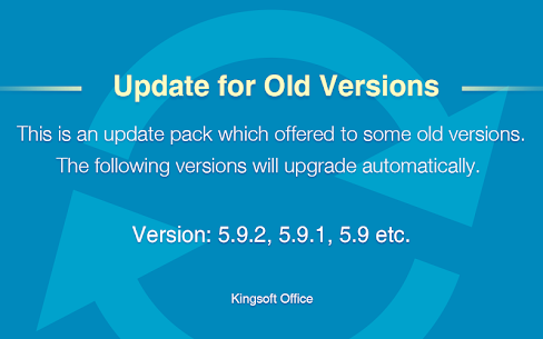 Update for Old Versions 5