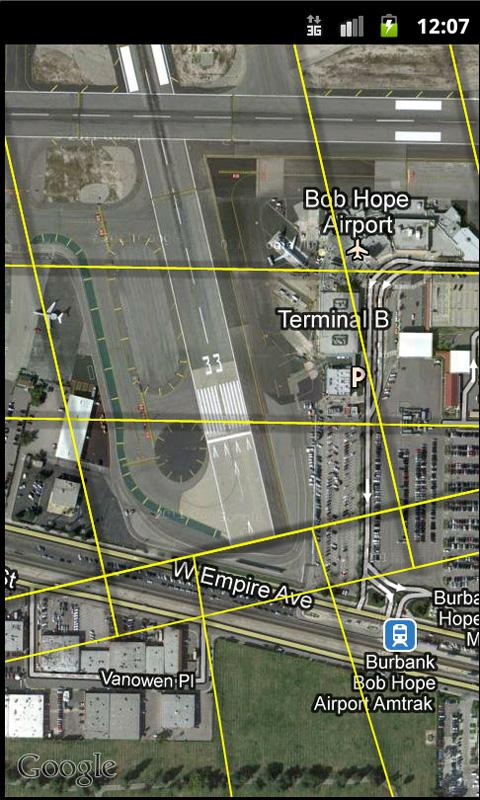 OISView - Bob Hope Airport BUR - screenshot