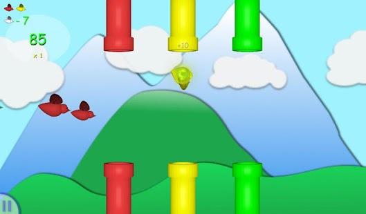 Flappy Flock:Pipes Strike Back screenshot