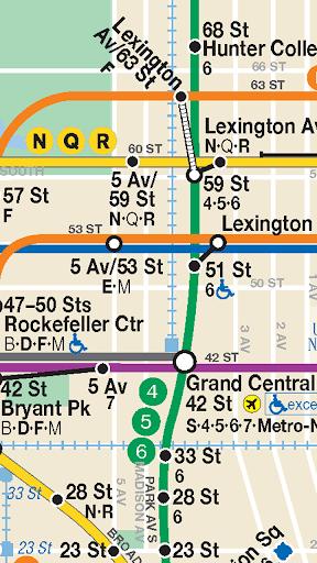 【免費交通運輸App】紐約地鐵路線圖-APP點子