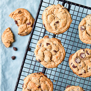 Chewy Peanut Butter-Chocolate Chip Cookies.