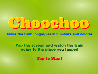 Choochoo Train for Kids- screenshot thumbnail