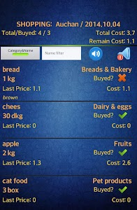 Easy Android Shopping List Pro screenshot 2