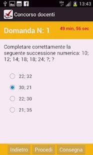 Quiz concorso docenti - screenshot thumbnail