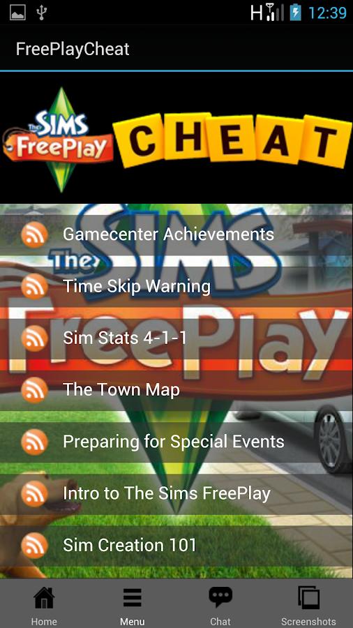 Sims FreePlay Cheats