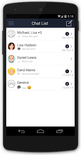 SparkChat: Messenger for Teams