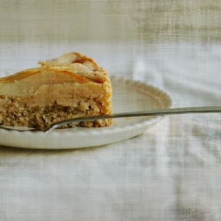 An Everyday Pear Cake.