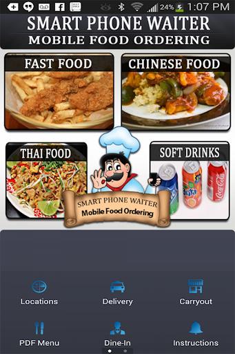 Smart Phone Waiter