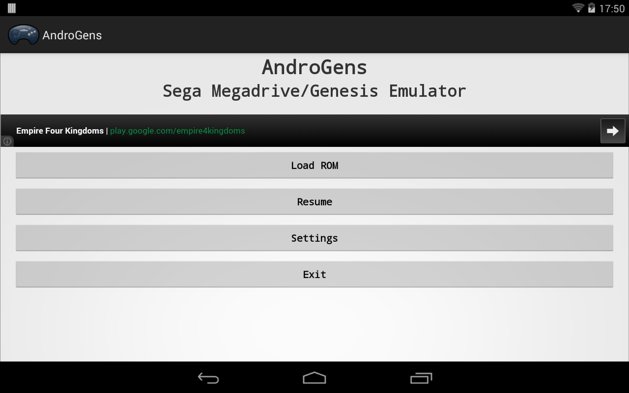 AndroGens - screenshot