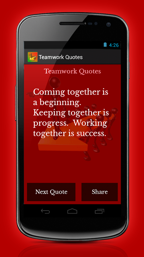 Teamwork Quotes - screenshot