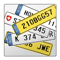 Number plate icon