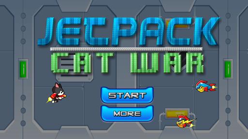 Jetpack Cat War