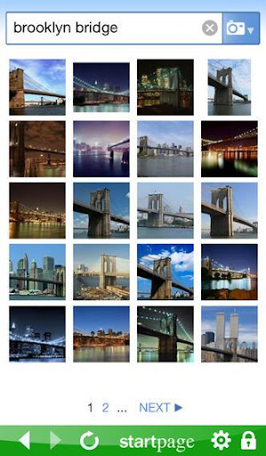 StartPage Private Search  screenshots 2
