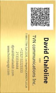 QR Biz Card